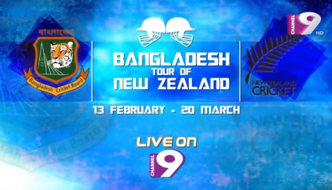 Channel 9 to broadcast Bangladesh-New Zealand series